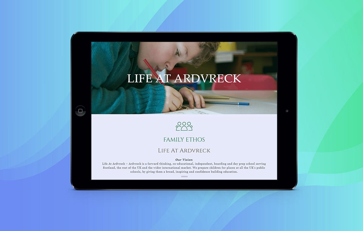 Lucy Hutchings Hunt & Co-case-study-mock-up-ipad-ardvreck-school